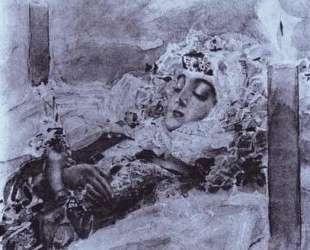 Tamara Lying in State — Михаил Врубель
