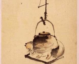 Tanuki — Кацусика Хокусай