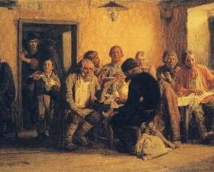 Tea drinking in a Tavern — Виктор Васнецов