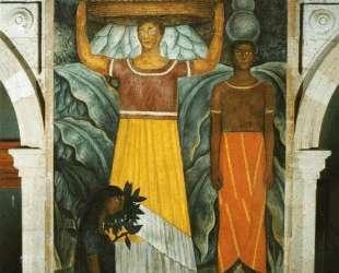 Tehuana Women — Диего Ривера