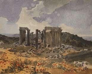 Храм Аполлона Эпикурейского в Фигалии — Карл Брюллов