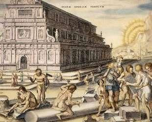Temple of Artemis — Мартен ван Хемскерк