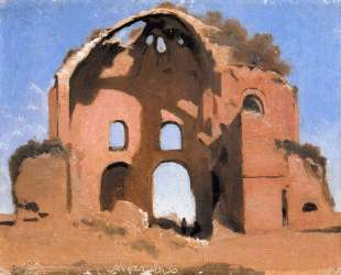 Храм Минервы — Камиль Коро