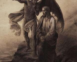 Искушение Христа — Василий Суриков