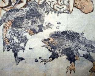 Tengu — Кацусика Хокусай