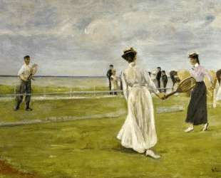 Tennis Game by the Sea — Макс Либерман