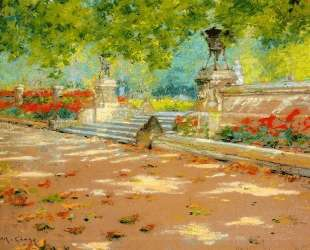 Terrace, Prospect Park — Уильям Меррит Чейз