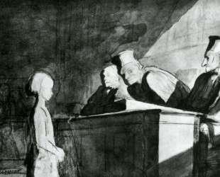 Свидетельство несоверешеннолетней — Оноре Домье