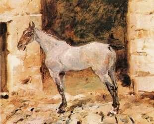 Tethered Horse — Анри де Тулуз-Лотрек