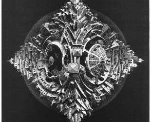 Tetrahedral Planetoid — Мауриц Корнелис Эшер