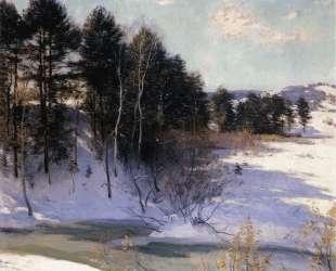 Thawing Brook (Winter Shadows) — Уиллард Меткалф