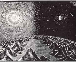 The 4th Day of the Creation — Мауриц Корнелис Эшер