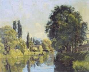 The Aarekanal near Thun — Фердинанд Ходлер