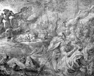 The Abduction of Bulls — Питер Пауль Рубенс