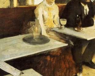 В кафе (Любительница абсента) — Эдгар Дега