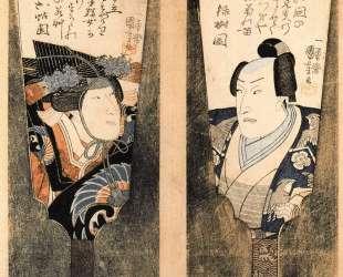The actor — Утагава Куниёси