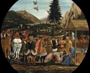 The Adoration of the Magi — Доменико Венециано