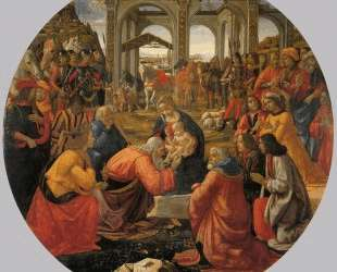 The Adoration of the Magi — Доменико Гирландайо