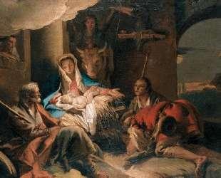 The Adoration of the Shepherds — Джованни Доменико Тьеполо