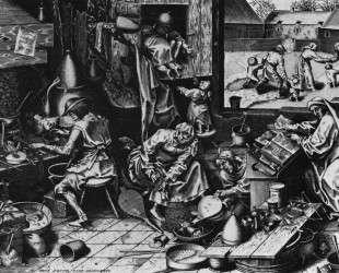 Алхимик — Питер Брейгель Старший