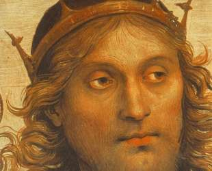 Всемогущий с Пророками и Сивиллами (деталь 2) — Пьетро Перуджино