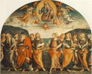 Всемогущий с Пророками и Сивиллами — Пьетро Перуджино