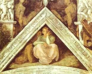 The Ancestors of Christ: Jesse — Микеланджело