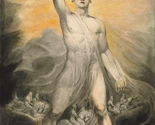 Ангел Откровения — Уильям Блейк