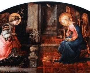 The Annunciation — Филиппо Липпи