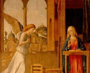 The Annunciation — Чима да Конельяно