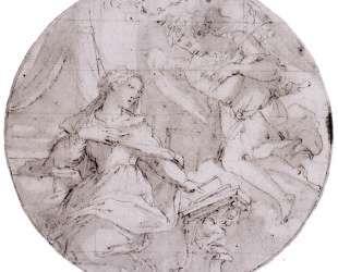 The Annunciation — Джорджо Вазари