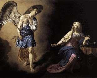 The Annunciation — Адриан ван де Вельде