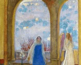 The Annunciation under the Arch with Lilies — Морис Дени