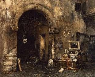 The Antiquary Shop — Уильям Меррит Чейз