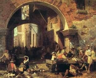 The Arch of Octavius — Альберт Бирштадт