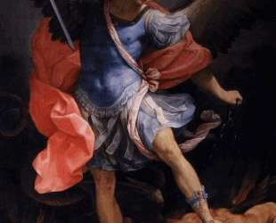 The Archangel Michael defeating Satan — Гвидо Рени