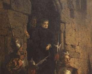 Арест гугенотки Жакобин де Монтебель, графини д'Этремон — Василий Поленов