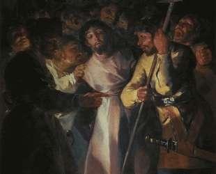 The Arrest of Christ — Франсиско де Гойя