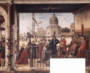 The Arrival of the English Ambassadors — Витторе Карпаччо
