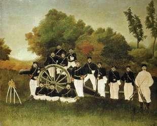 The Artillerymen — Анри Руссо