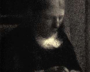 Мать художника — Жорж Сёра