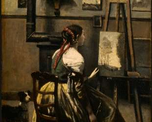 Студия художника — Камиль Коро