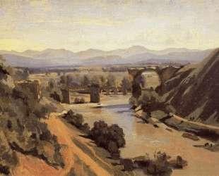 Августинский мост в Нарни — Камиль Коро