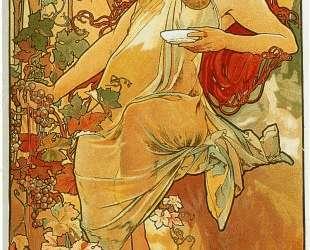 The Autumn — Альфонс Муха