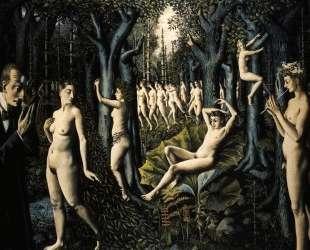 Пробуждение леса — Поль Дельво