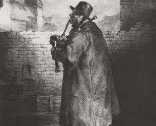 The Bagpipe player — Теодор Жерико