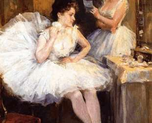 The Ballet Dancers aka The Dressing Room — Уиллард Меткалф
