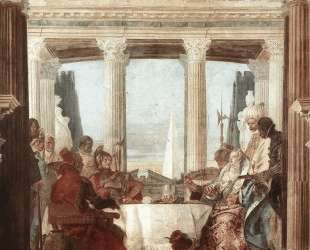 The Banquet of Cleopatra — Джованни Баттиста Тьеполо