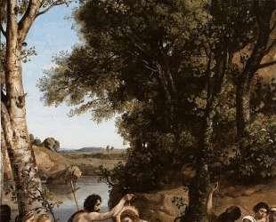 Крещение Христа — Камиль Коро