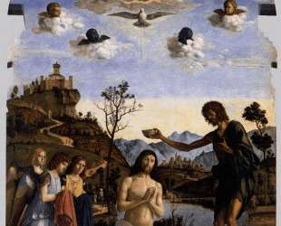 The Baptism of Christ — Иоахим Патинир